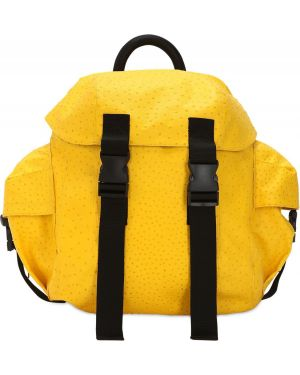 Plecak z klamrą - żółty Haervaerk