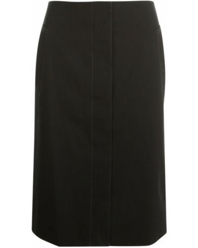 Spódnica - czarna Lemaire