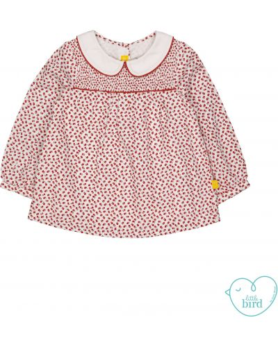 Блуза с цветочным принтом Mothercare