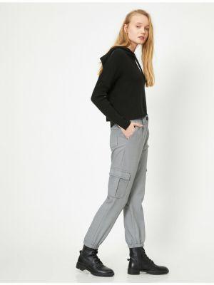 Czarne spodnie Koton