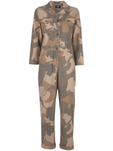 Garnitur kostium brązowy Wood Wood