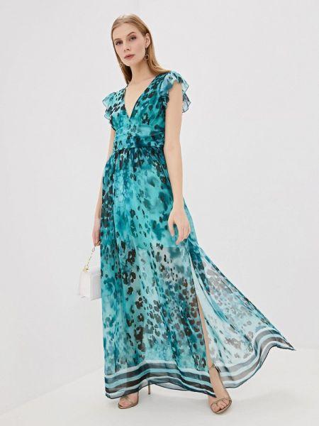 Повседневное платье бирюзовый весеннее Liu Jo