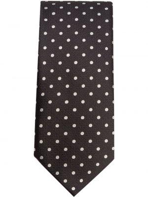 Klasyczny krawat - biały Dolce And Gabbana