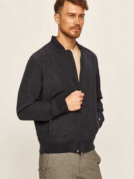 С рукавами синяя куртка с карманами Only & Sons