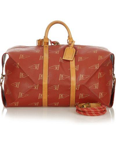Czerwona torebka Louis Vuitton Vintage