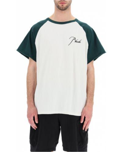 Biały t-shirt Rhude