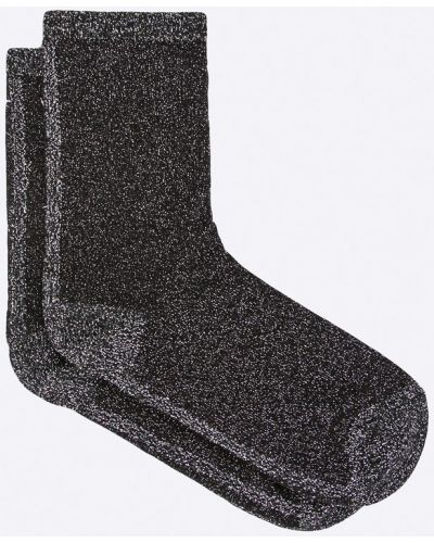 Черные носки хлопковые Pieces