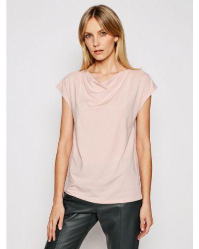 Bluzka - różowa Weekend Max Mara