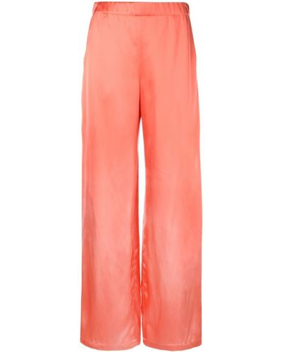 Широкие брюки - оранжевые Zero + Maria Cornejo