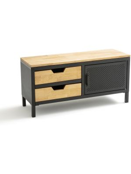 Банкетка металлическая деревянная La Redoute Interieurs