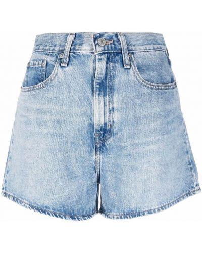 Синие хлопковые шорты Levi's®