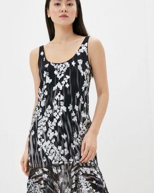 Вечернее платье черное весеннее Just Cavalli
