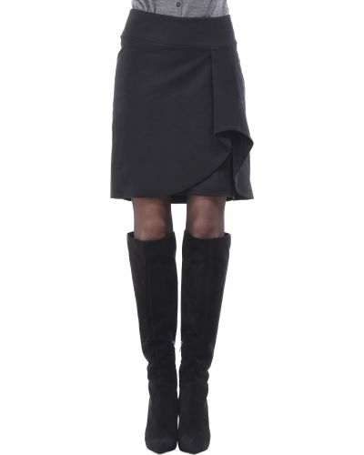 Нейлоновая черная юбка Who's Who