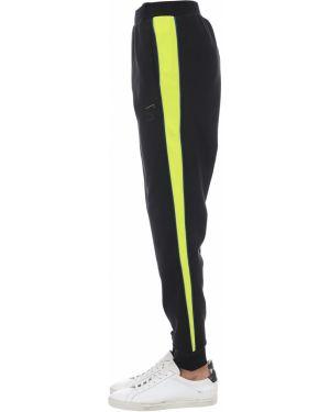 Prążkowane czarne spodnie Puma Select