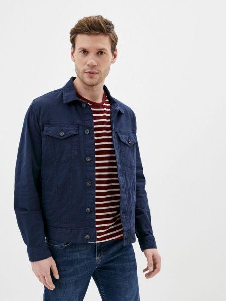 Синяя джинсовая куртка прозрачная Marks & Spencer