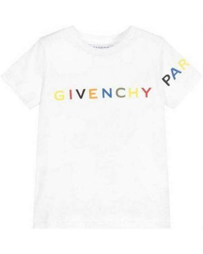 Podkoszulka z printem - biała Givenchy