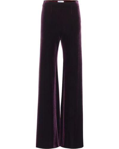Фиолетовые бархатные брюки на торжество Galvan