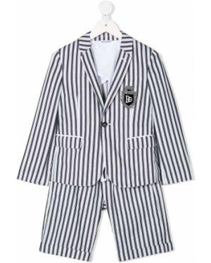 Garnitur kostium z nadrukiem Dolce & Gabbana Kids