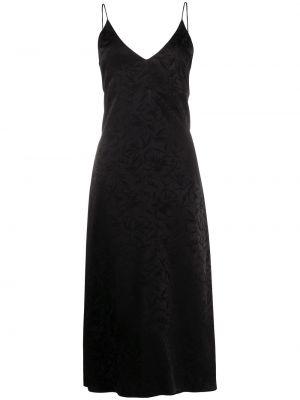 Платье миди с открытой спиной на бретелях Msgm
