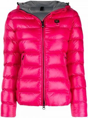 Różowa klasyczna kurtka Blauer