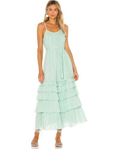 Хлопковое платье с подкладкой мятное Sundress