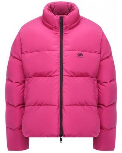 Стеганая куртка - розовая Balenciaga
