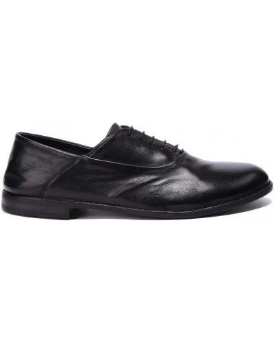 Кожаные туфли закрытые круглые Pantanetti