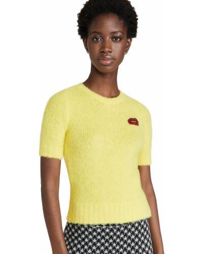 Шерстяной свитер - желтый No. 21