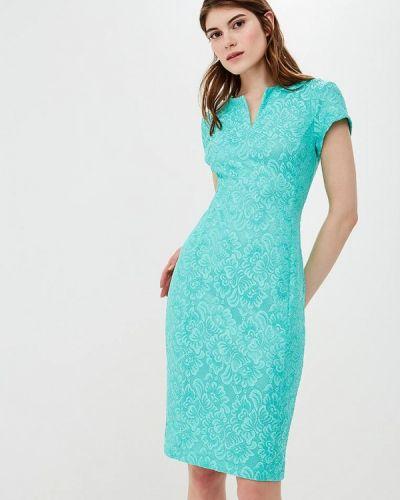 Бирюзовое платье весеннее Eliseeva Olesya