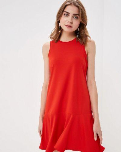 Платье - красное Banana Republic