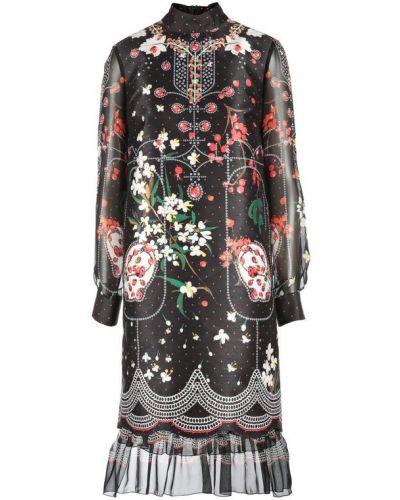 Шелковое платье Piccione•piccione