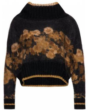 Sweter z moheru czarny Twinset