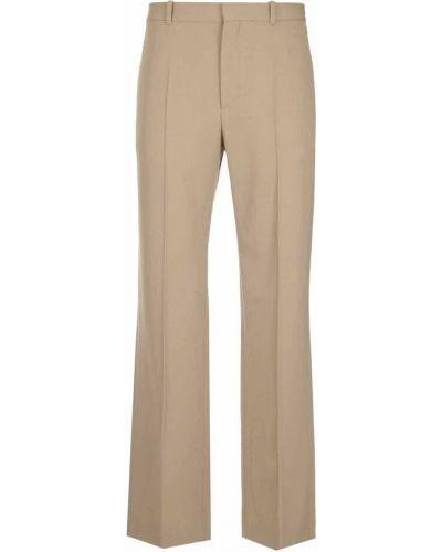 Spodnie wełniane - beżowe Balenciaga