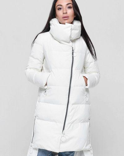 Зимняя куртка осенняя белая Misun