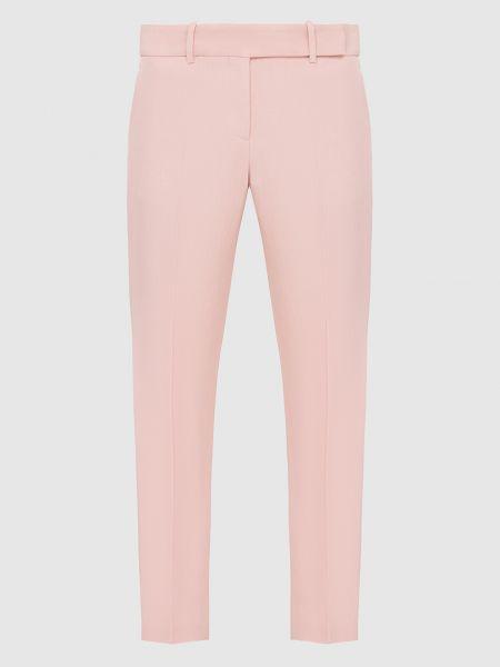 Повседневные розовые брюки Ermanno Scervino