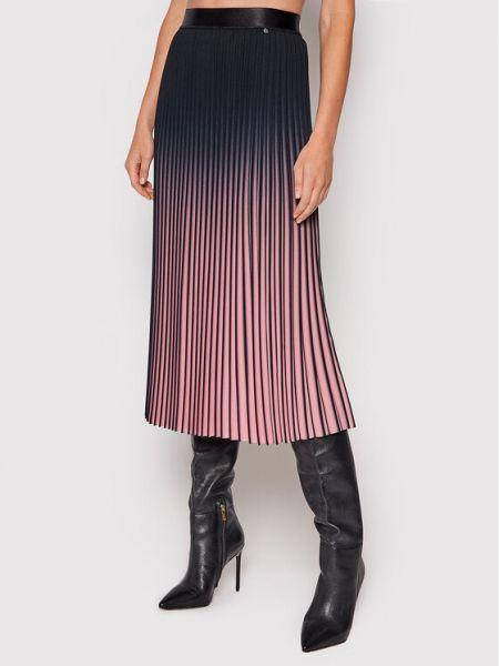 Spódnica plisowana - różowa Nissa