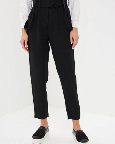 Черные брюки повседневные Lost Ink.