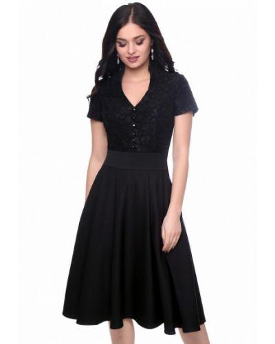 Коктейльное платье осеннее Grey Cat
