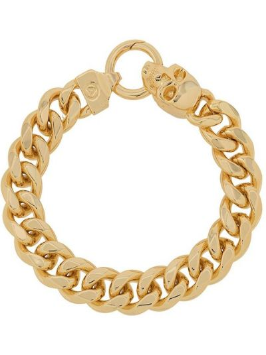 Золотистый браслет золотой Northskull