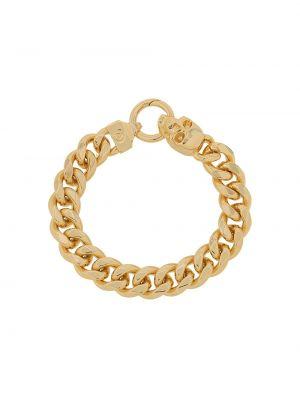 Золотистый желтый браслет Northskull