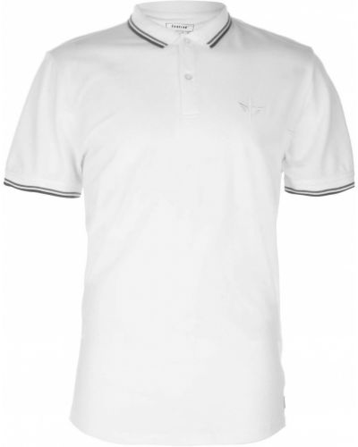 T-shirt bawełniana - biała Firetrap
