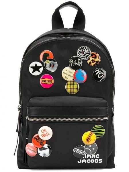 Plecak czarny Marc Jacobs