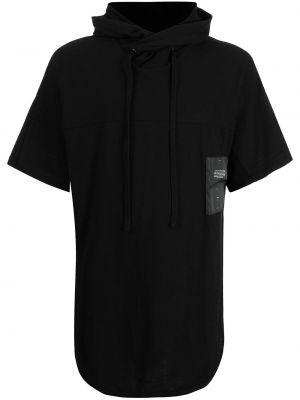 Czarna koszulka bawełniana Julius