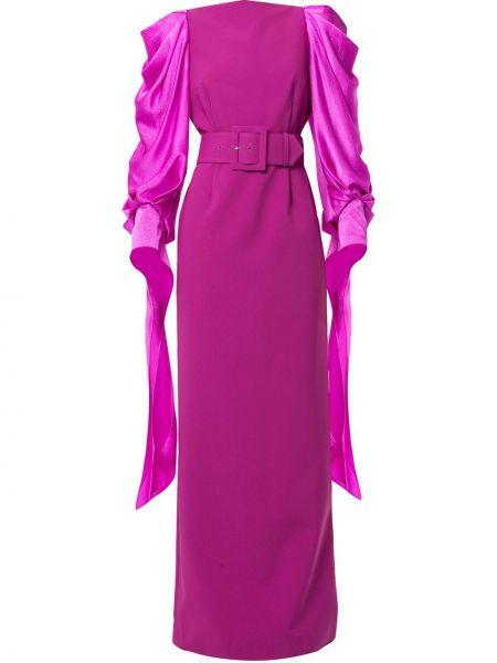 Платье макси на молнии с драпировкой Solace London