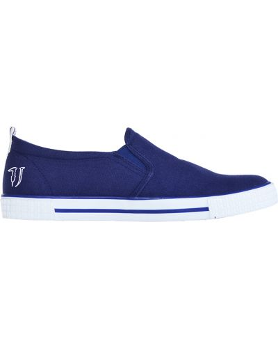 Слипоны синий Trussardi Jeans