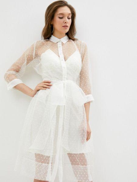 Белое платье Gorchica