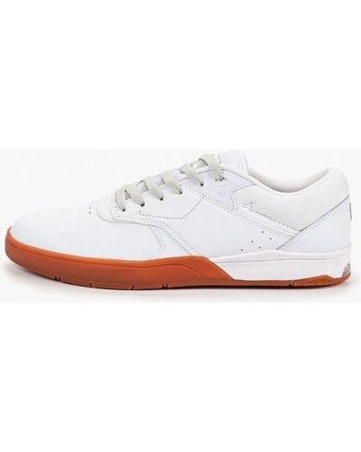 Низкие кеды белые демисезонный Dc Shoes