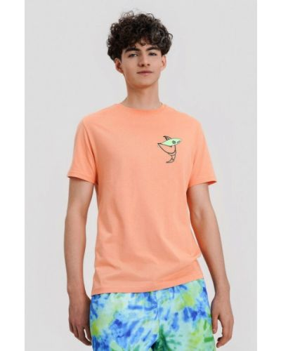 Футболка - оранжевая O'stin