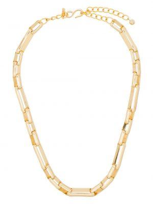 Золотистое ожерелье золотое Kenneth Jay Lane