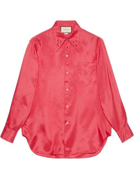 Koszula z kieszeniami Gucci